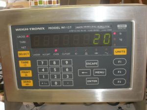 WeighTronix Screen
