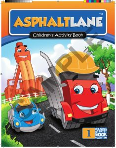 Asphalt Lane Coloring Book
