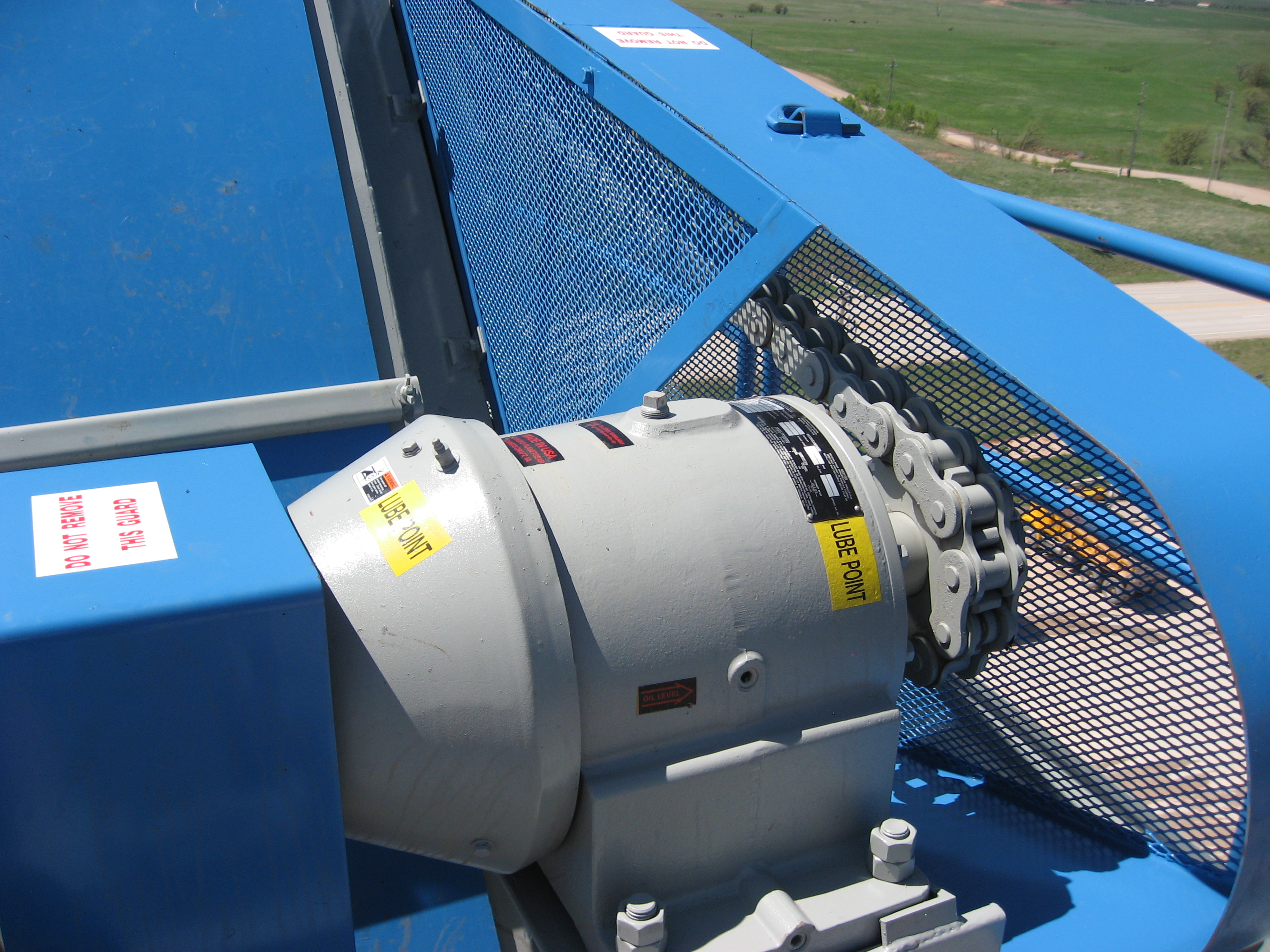 Chaindriven collecting system (Gencor)
