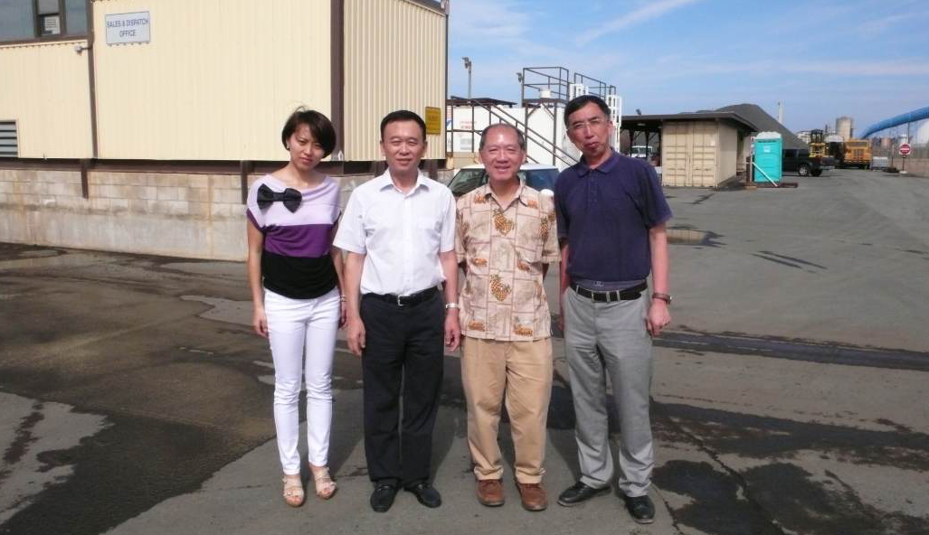 HAPI's Executive Director Jon Young had the opportunity to visit with the Zhongda Road & Bridge Group of Harbin, China, on their way to World of Asphalt in March. They stopped to take a tour of the Grace Pacific Kalaeloa Asphalt Plant.