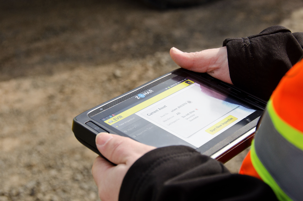 The EVIR allows time-stamped reporting and alerts to automate the service and repair scheduling for equipment.