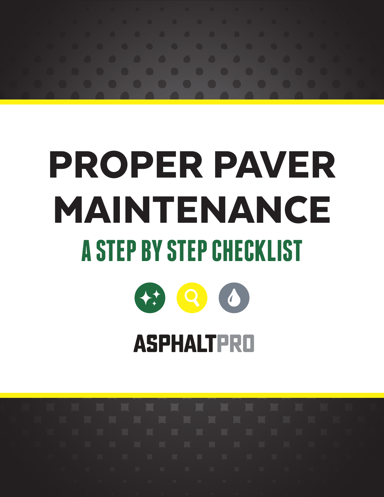 Paver Maintenance
