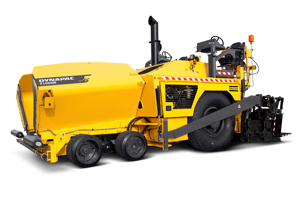 Atlas Copco's Dynapac F1000 pavers now feature new auger and tunnel systems.