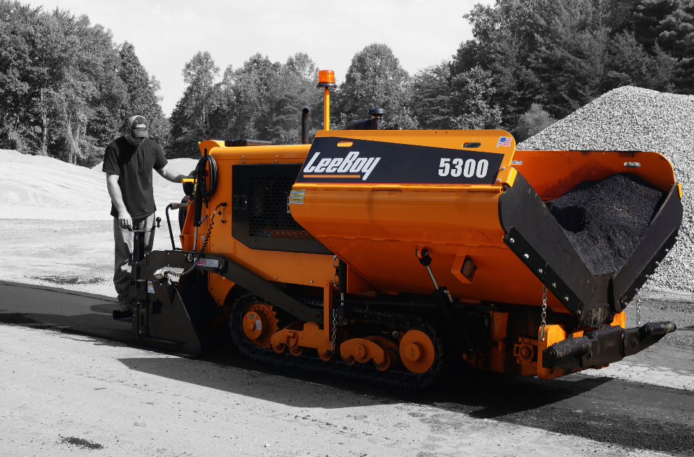 The New 5300 Series Paver From Leeboy Can Be Configured To Pave From 48 Inches Up