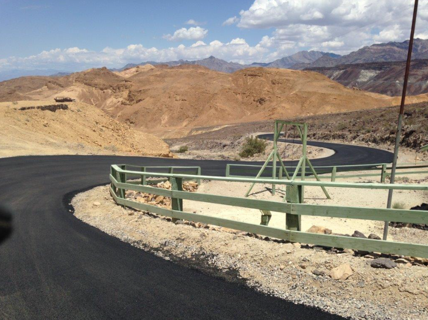 Over the years, Wulfenstein Construction has completed a number of paving jobs for Death Valley National Park. Death Valley holds the record for the hottest temperature ever recorded on Earth.