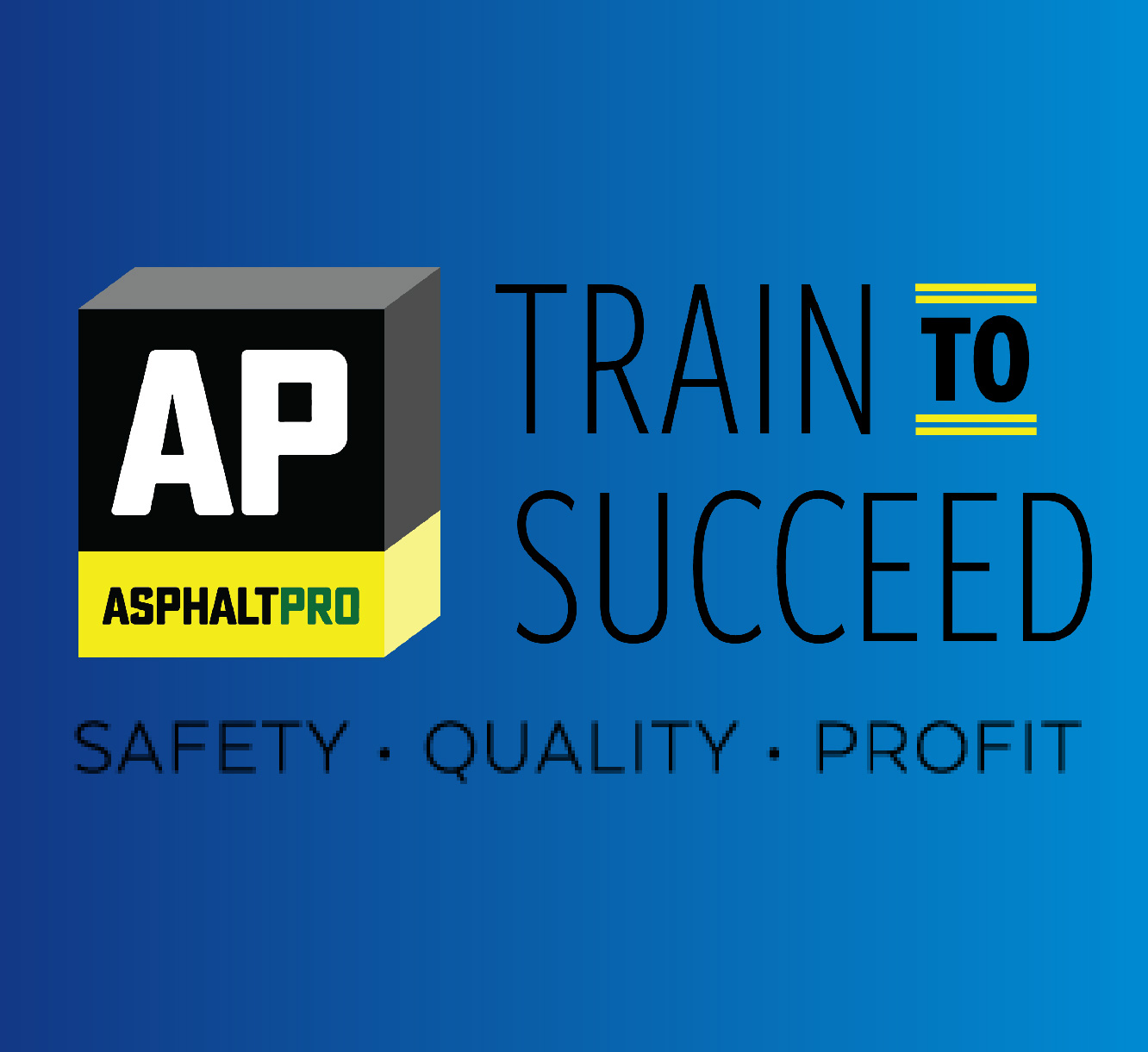 Train to Succeed Blue Square