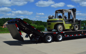 The XL 80 Power Tail trailer is the newest launch from XL Specialized Trailers, Manchester, Iowa.