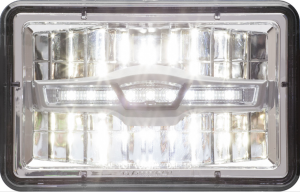 The HLL79HB high-beam lamps fit 4- by 6-inch rectangular formats, and are designed so users can easily upgrade their headlamps from standard halogen.