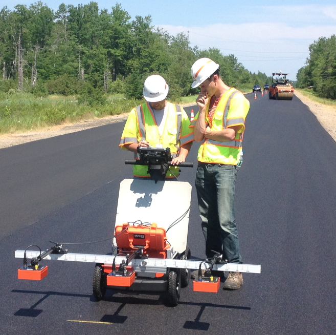 The new PaveScan® RDM allows contractors to assess asphalt integrity without coring.