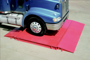 The portable axle load scale from Fairbanks Scales can be set up anywhere you need it.