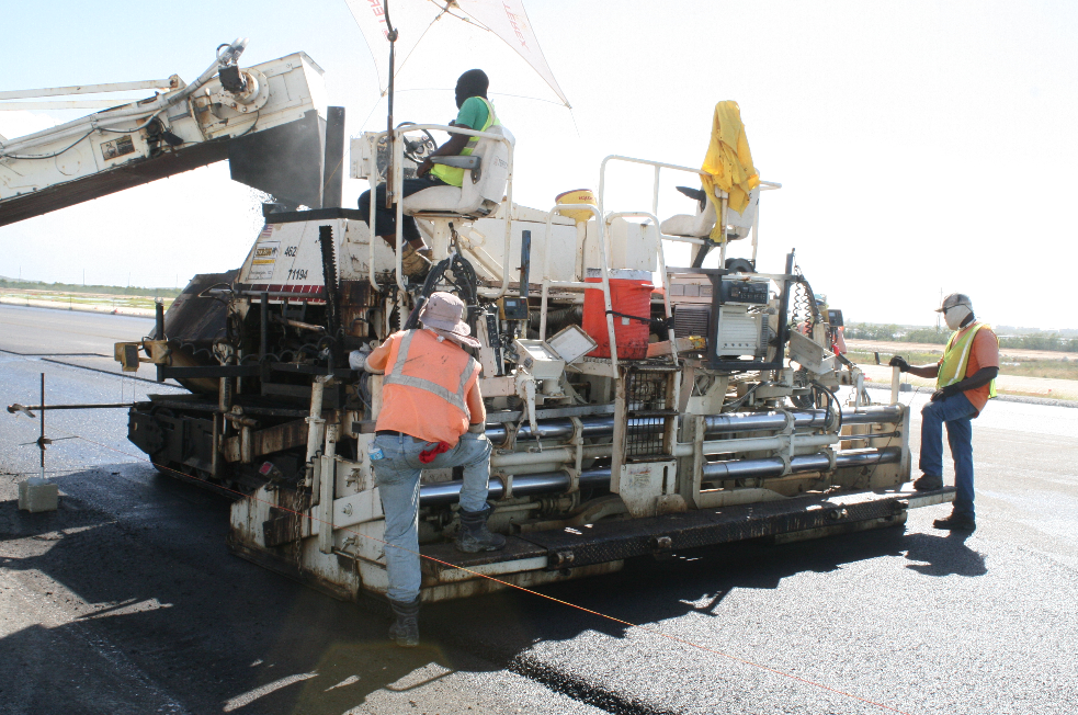 The South Caicos airport job is the latest example of Herzog Caribbean's general contracting.