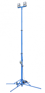Larson Electronics has launched a new work light tower that provides 10,800 lumens of high-intensity LED light for a work area.