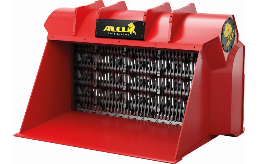 End product size is defined by the space between the combs of the new ALLU TS® drum assembly construction.