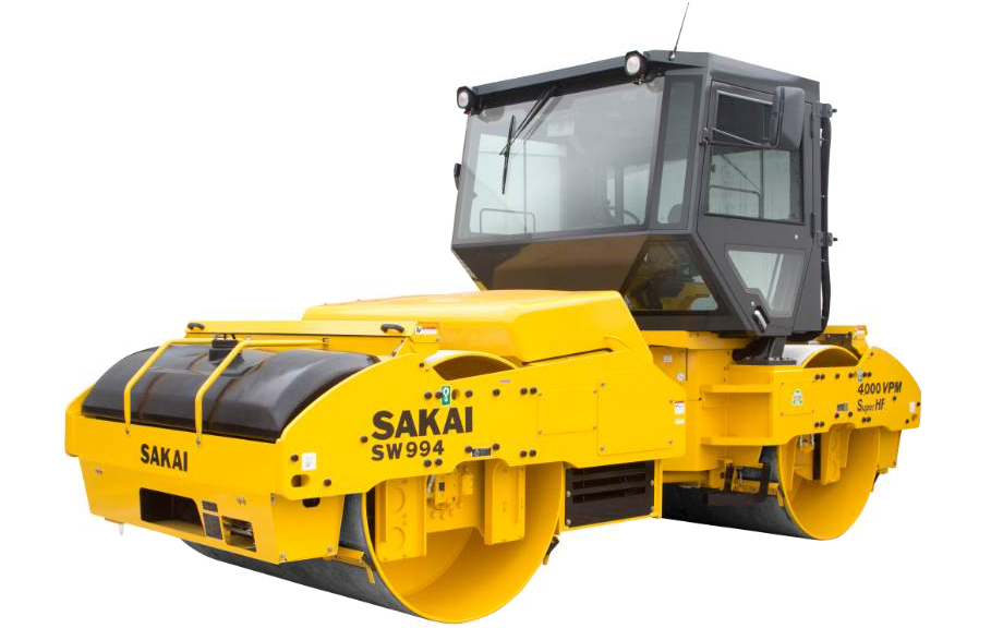 The cabbed version of the 84-inch Sakai SW994 vibratory double-drum roller is designed with operators in extreme climates. However, operators throughout the industry can benefit from a quieter, dust-free environment that an enclosed cab provides.