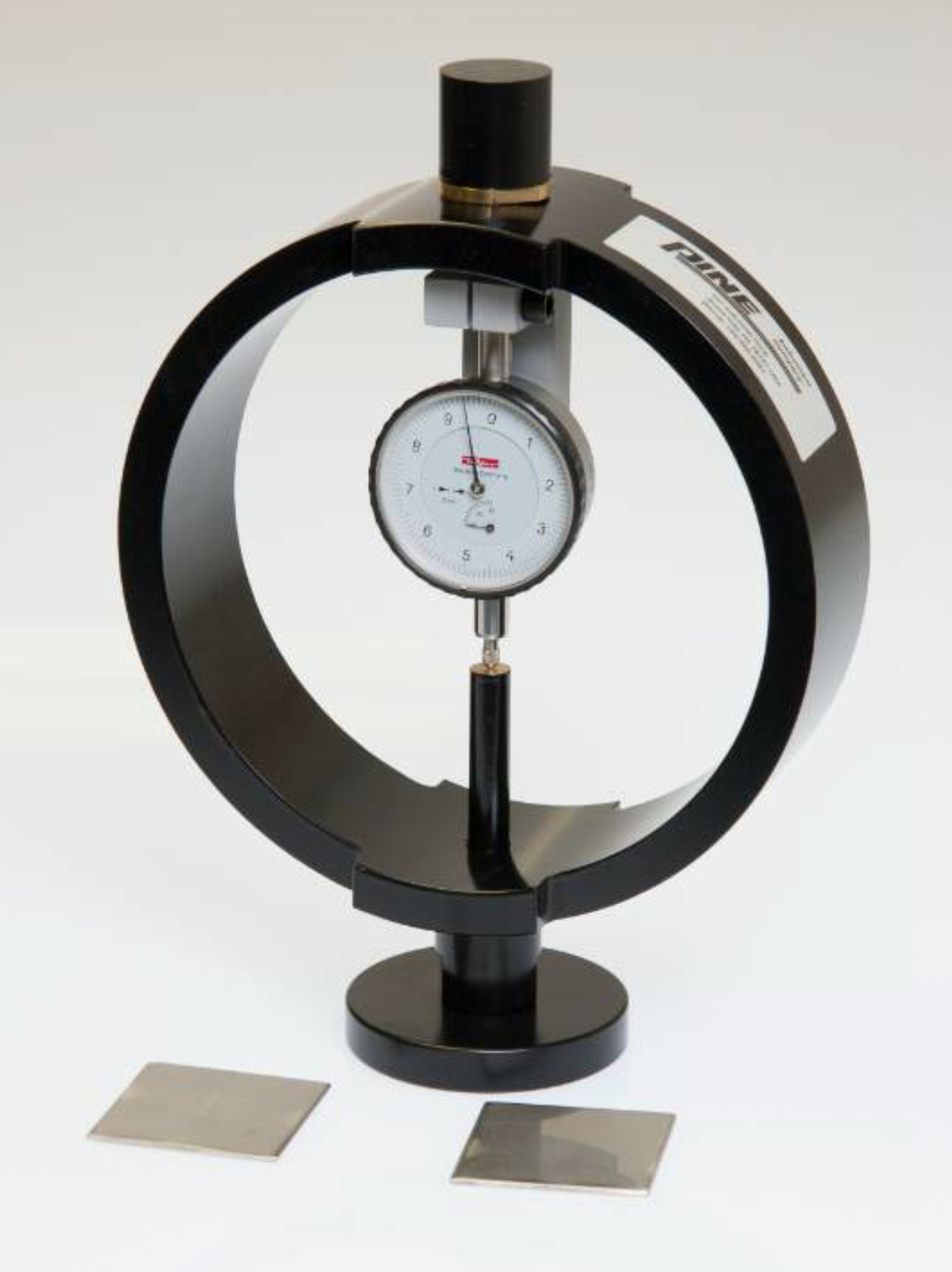 If the item is to be used for an official calibration at an AASHTO-accredited lab, the Pine proving ring calibrated on or after Jan. 1, 2018 must be calibrated by an ISO 17025-certified lab for calibrating force applicable force measurement devices. Pine field technicians will carry devices that comply with AASHTO R18.