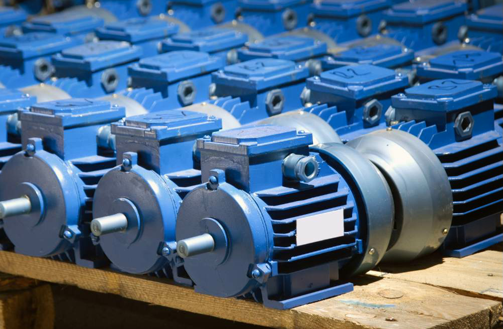 These motors are stored with tags to show the last dates of inspections. Photo courtesy ALL-TEST Pro.