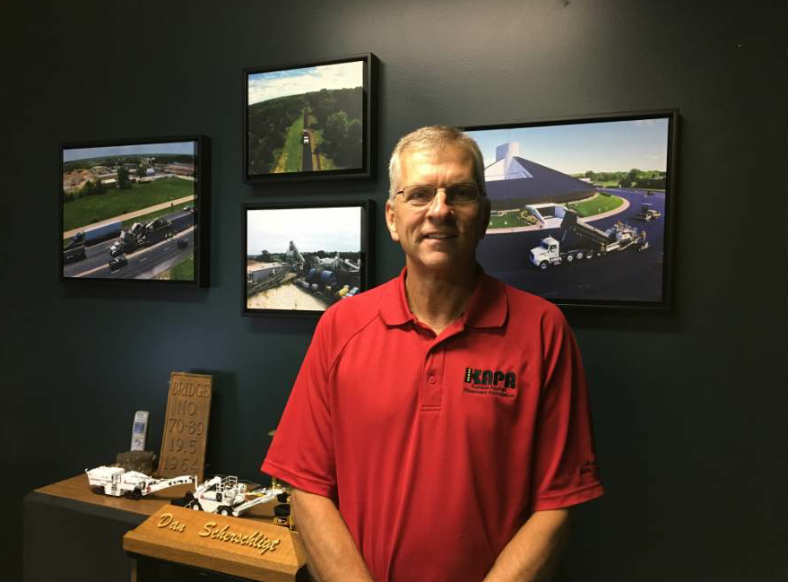 Dan Scherschligt was recruited to be KAPA's executive director four years ago after retiring from the Kansas DOT.