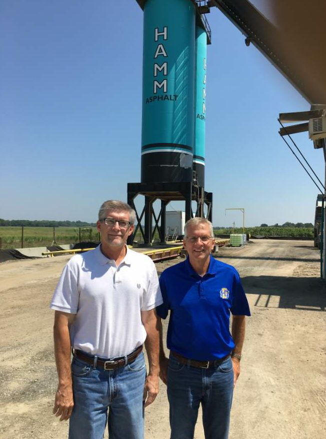 One of Scherschligt's classmates at South Dakota State University, Tony Marienau, is a manager at Hamm Construction, an asphalt producer and KAPA member located in Perry, Kansas.