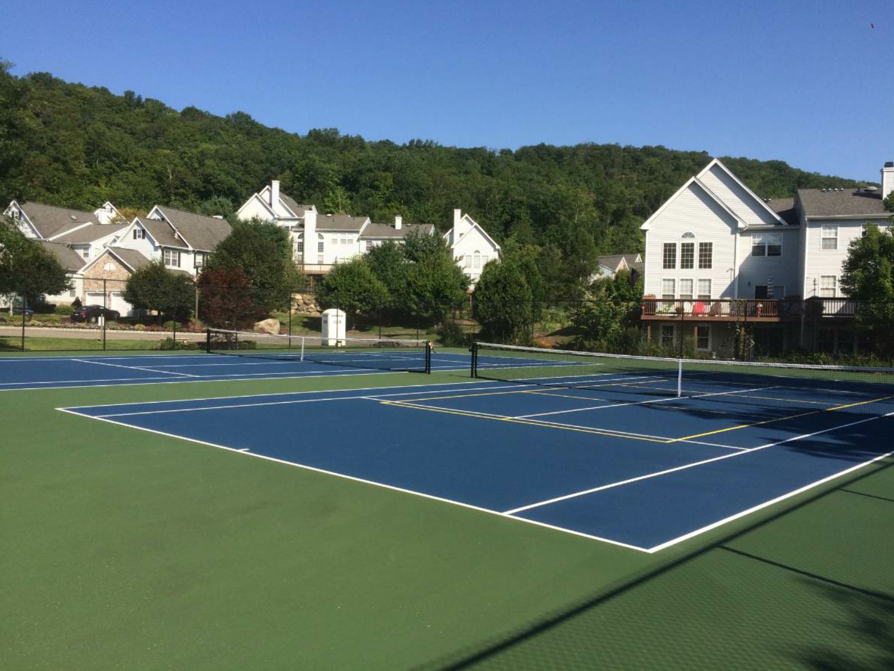 Superior has also rehabilitated two courts at The Woodlands community in Tuxedo, New York.