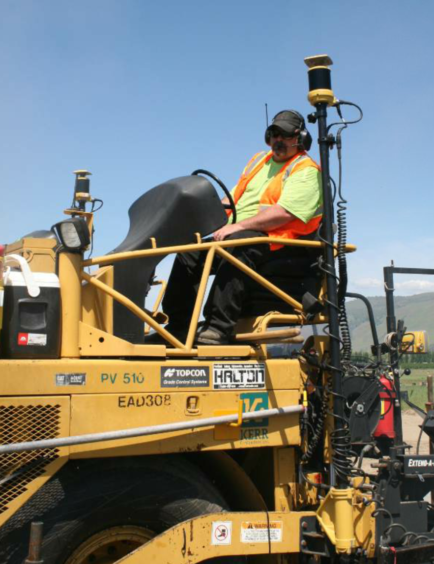 "When sustained winds of more than 30 mph howled through the valley for two days, the force caused a vibration of the equipment that affected the readings for a time. For a quick solution to that challenge, asphalt manager John Arambul said they positioned large onsite vehicles to shelter the equipment from the winds. ""…that brought the readings instantly back on track,"" he said."