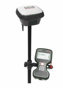 The GS18 T GNSS RTK is the latest iteration of rover from Leica Geosystems.