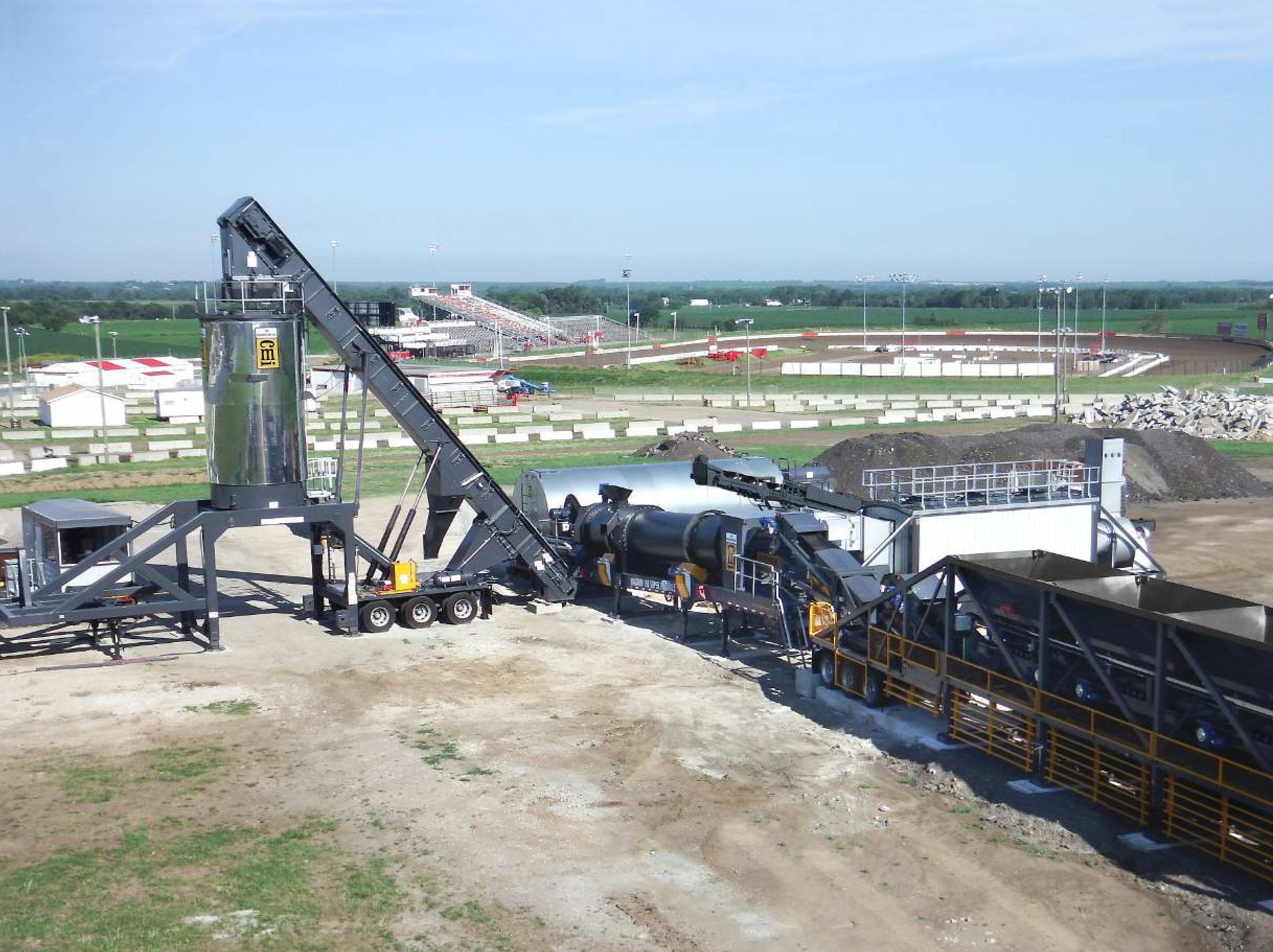 CMI Roadbuilding has introduced the Magnum 150 counterflow drum-mix with up to 30 percent RAP capability.