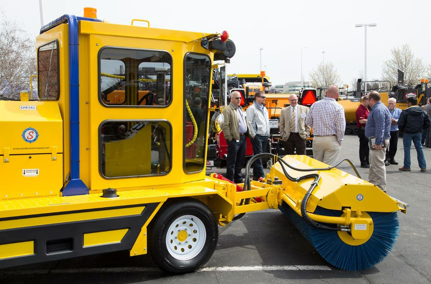 The Ohio Asphalt Expo occurs in March and includes a trade show, heavy equipment exposition and concurrent educational sessions.