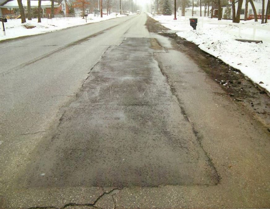 In 2015, the city used its KM T-2 and infrared heater to repair an aged stretch of asphalt along Barlow Street. Since the repair, they have not had to return to the area for additional repairs.