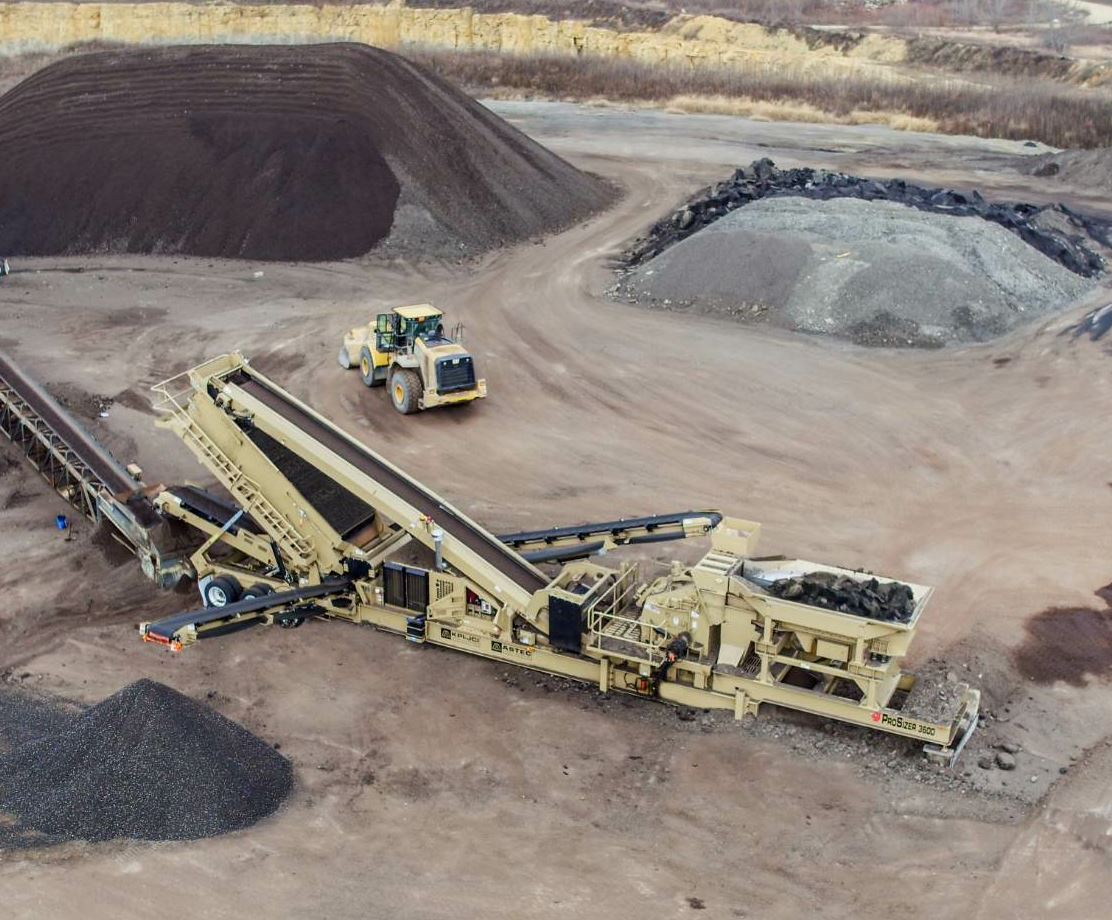 The ProSizer 3600 from KPI-JCI and Astec Mobile Screens is a standalone crushing and screening portable plant.