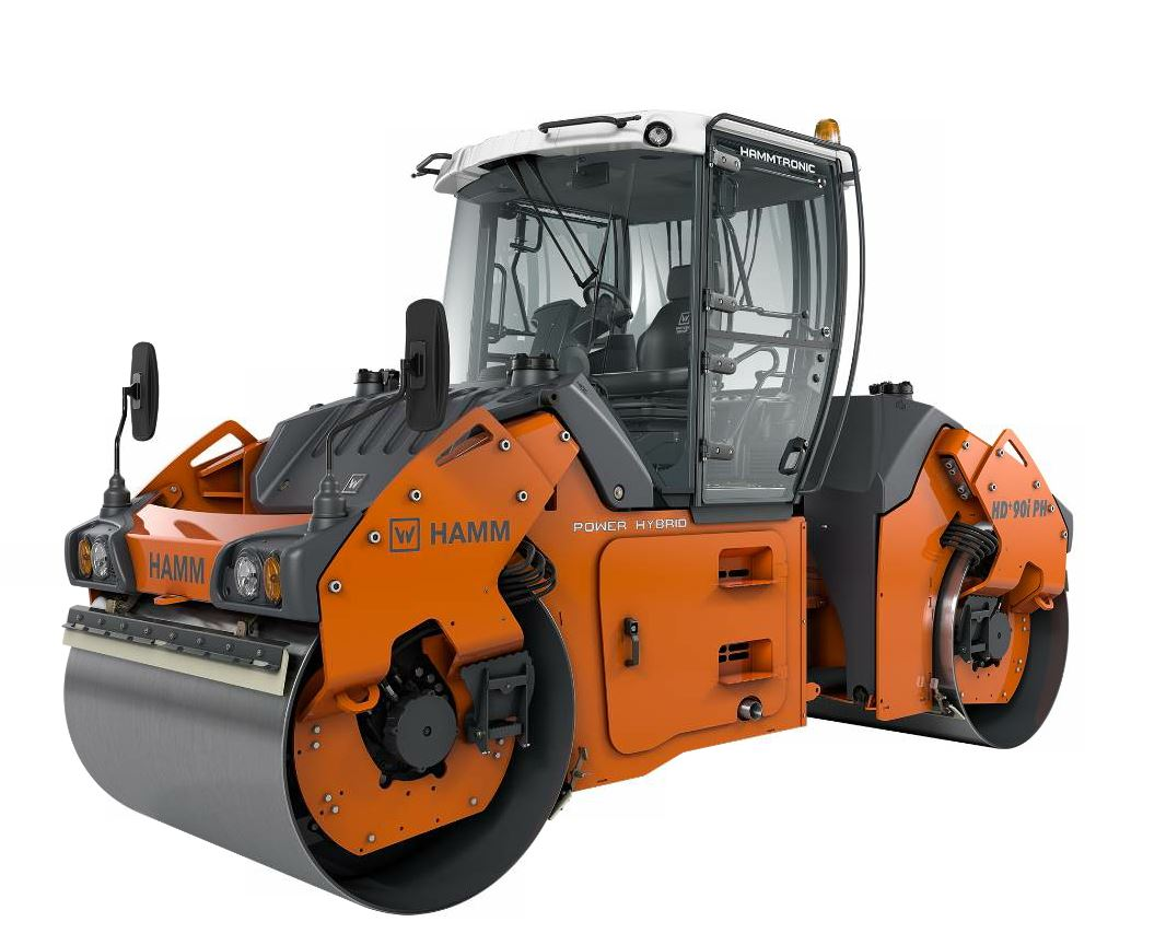 The new HD+ 90i PH will be available in 2018 with hydraulically-assisted hybrid power train.