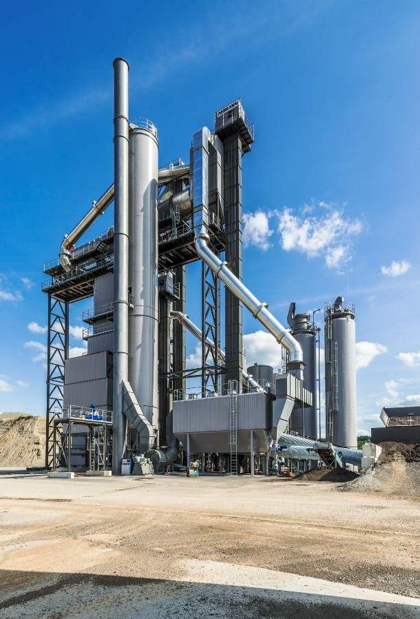 Ask about the Ammann ABP High Recycling Technology asphalt plant.