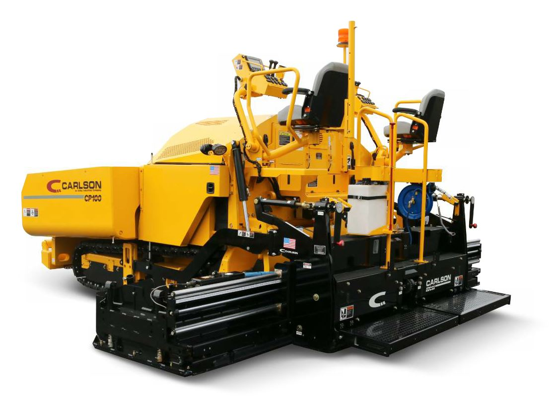 The CP100 II is the next generation of commercial class paver from Carlson Paving Products.