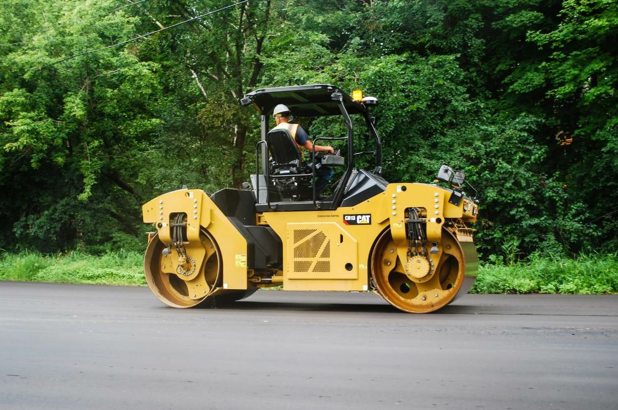 Cat's new CB13 is in the 13-ton class.