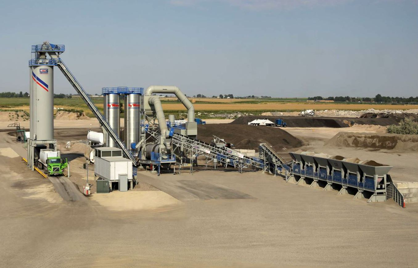 The Idaho Materials plant in Twin Falls uses Gencor products, Gencor technology.