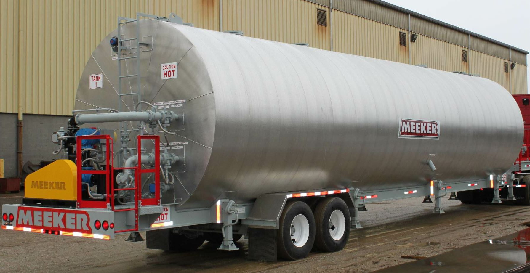 Ask about Meeker's 30,000-gallon asphalt tank.