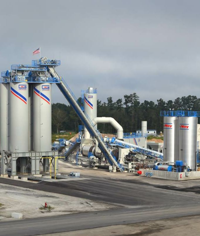 This past June, Sanders Brothers' added another plant, a Gencor 400 XL Ultradrum with Advanced RAP Entry, in Moncks Corner.