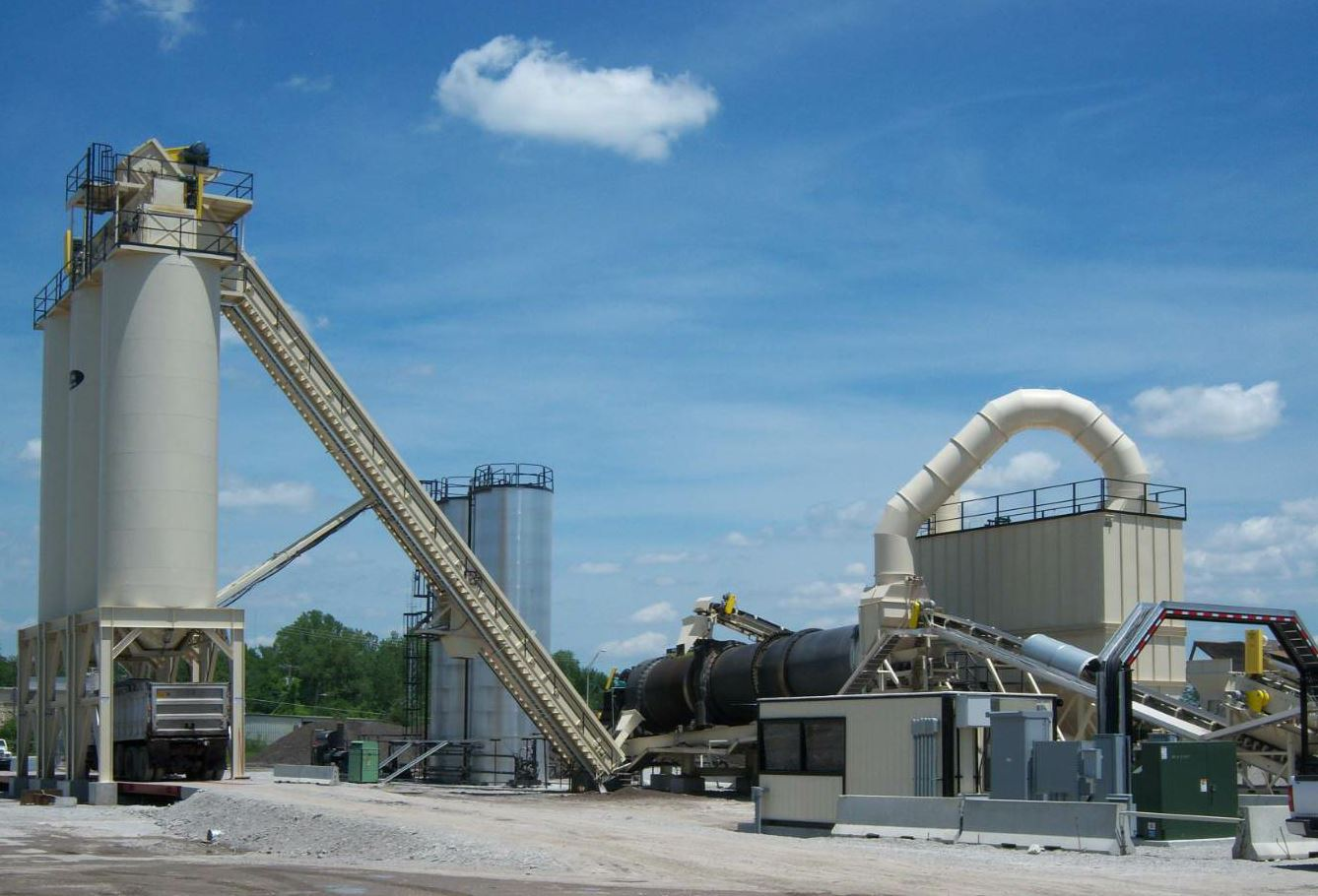 Tarmac International's asphalt plant components