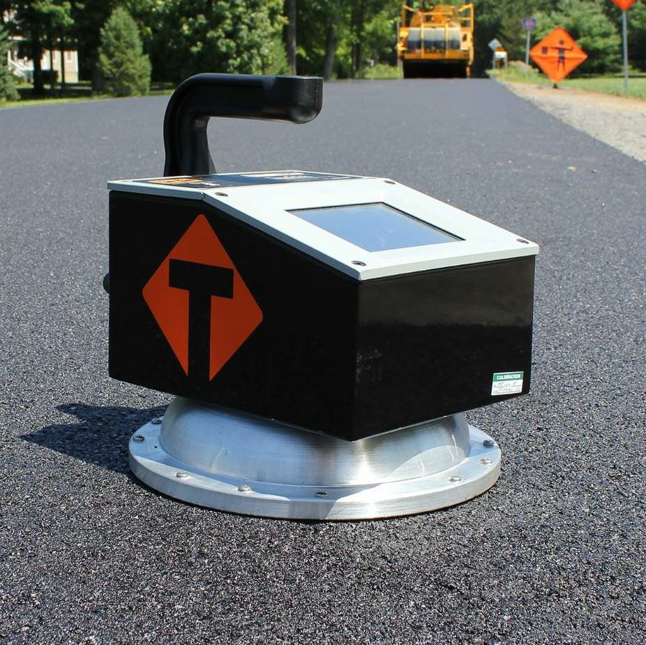The PQI is the flagship non-nuclear pavement density gauge.