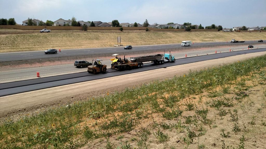Martin Marietta's West Plant in Golden, Colorado, produced more than 200,000 tons of asphalt for the E-470 job.