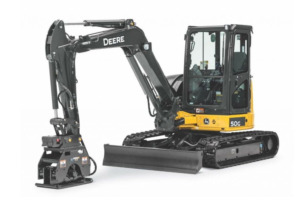 Deere added three new plate compactors to its portfolio of over 100 Worksite Pro™ attachments.