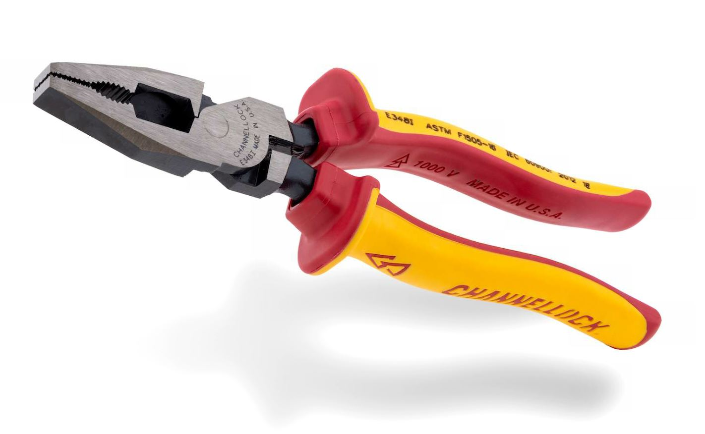 The new line of insulated pliers from Channellock includes four tools.