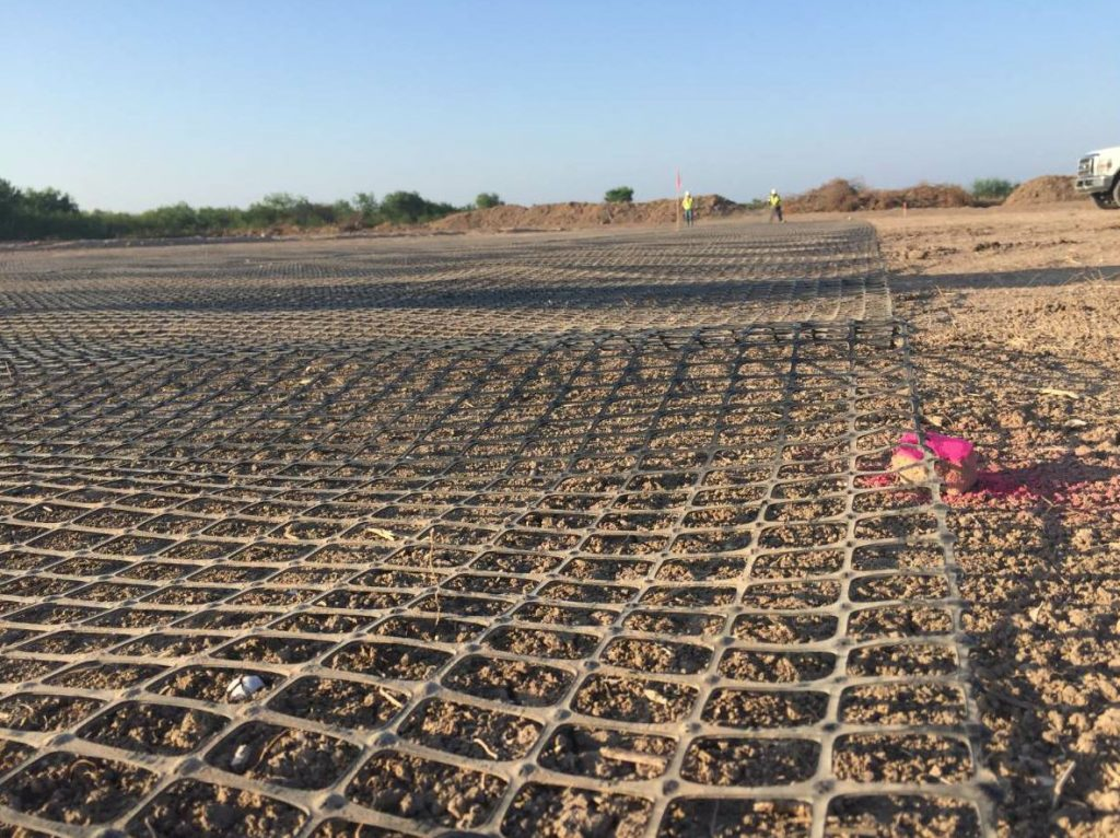 Before the plant could be delivered, Texas Cordia had to prepare the new plant site's foundation.