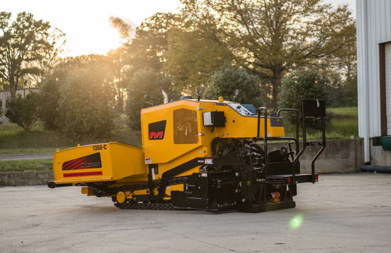 The 1350-C is a new commercial paver from Mauldin Paving Products.