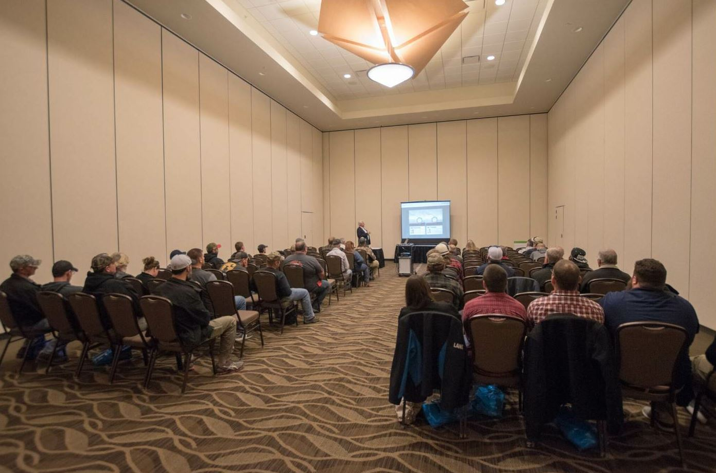 The Spring Paving Seminar also offers a number of educational opportunities.