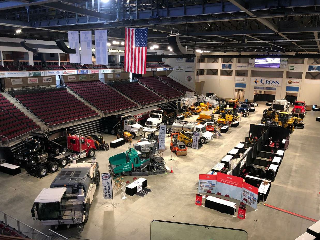 MAPA's Spring Paving Seminar also includes the largest equipment show in New England, according to Bentley.