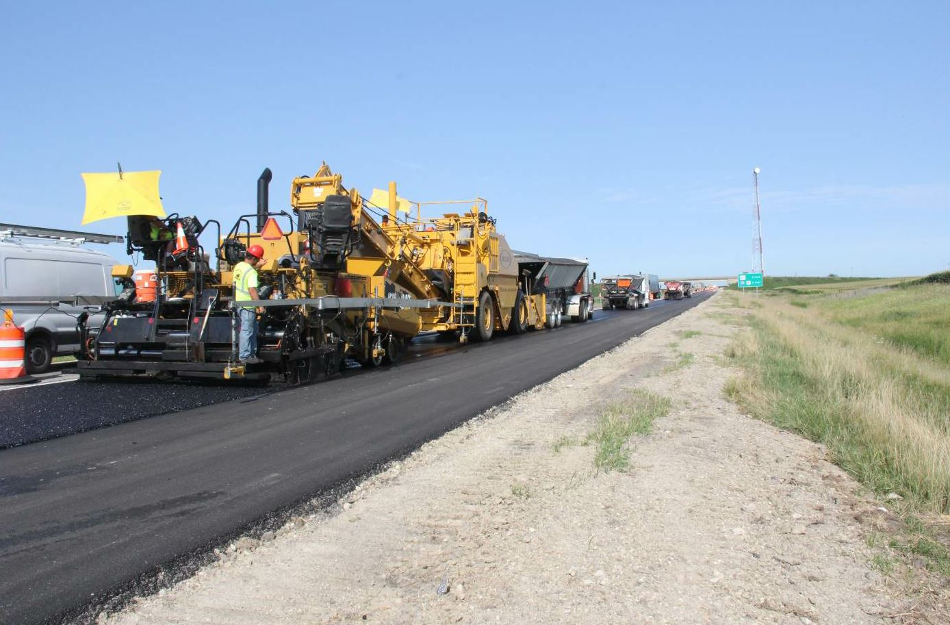 """""""The contractors on I-88 are William Charles Construction, Rock Road Construction, Curran Contracting and Geneva Blacktop.""""—John Lavallee"""