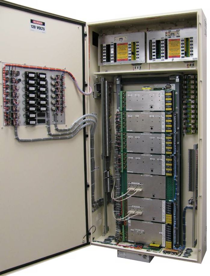 B&S Light's all-in-one full plant control cabinet