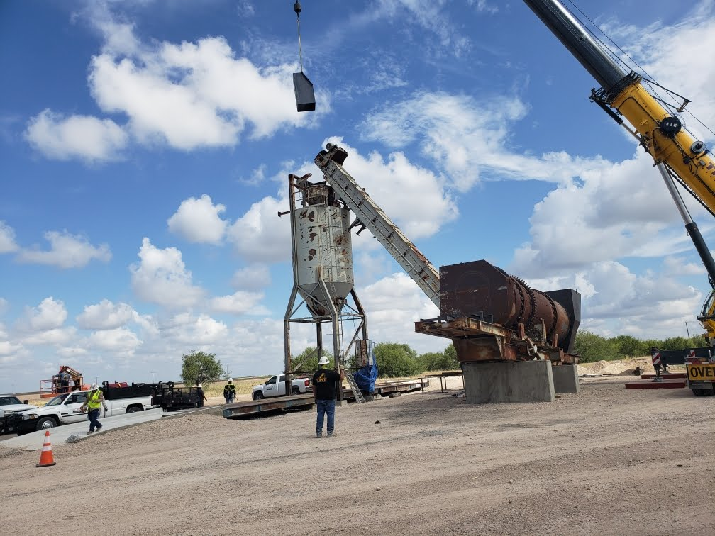 Throughout the summer, Texas Cordia has been bringing the plant and all parts to its new plant location in Texas.
