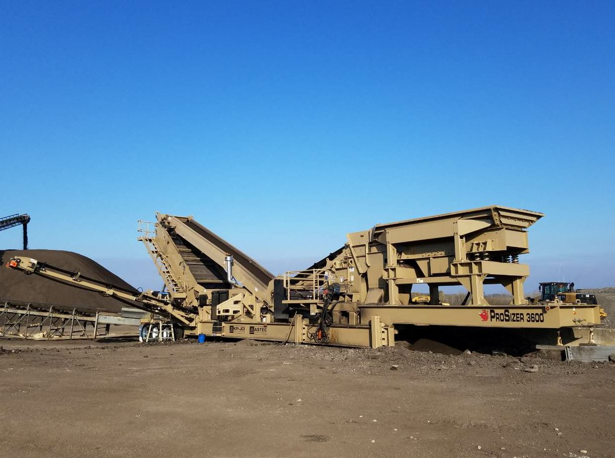 New Asphalt Plant Equipment November 2018 Asphaltpro Magazine Any One Here Have An Idea As To The Wiring Diagram Of A Astec Mobile Screens Prosizer 3600