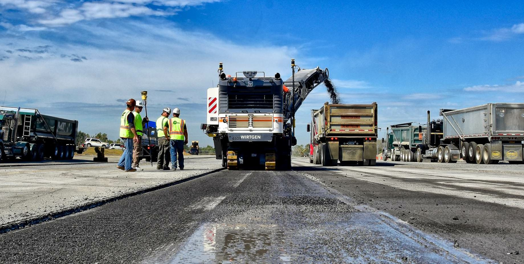 """""""…because the grade control will hold us at 3 inches below finished grade the whole time, our quantities—projected at 3,000 tons for Phase 3 alone—will be accurate,"""" Paul Ceglia said."""
